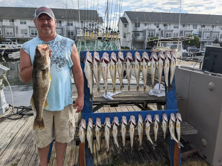Lake Erie Walleye Fishing Report – 7/13/20