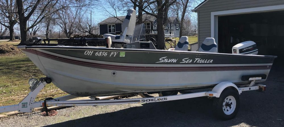 1992 Sylvan Sea Troller - SOLD in 4 Days